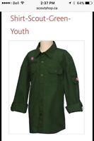 Scout shirt brand new