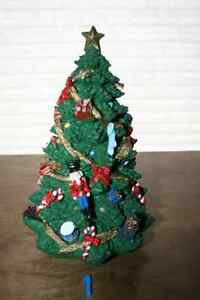 P.  Resin Christmas Trees- see photos