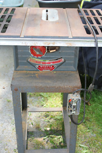 "Table saw  ""Beaver"" Older one works fine REDUCED $125.00"