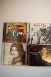 Country Music CD set - used - see description for list