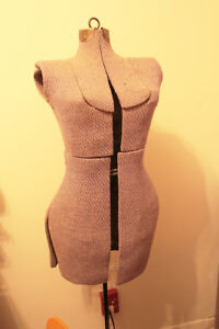 """Antique Mannequin Dress Form for Seamstress """"Judy"""""""