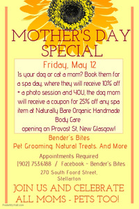 Mother's Day Grooming Special
