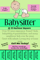 BABYSITTER in DOWNTOWN TORONTO!!