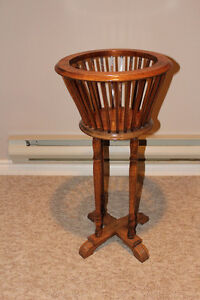 Solid Wood Antique Plant Stand