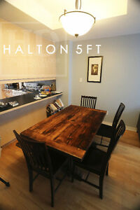 Barnwood Tables - Locally Made from Reclaimed Hemlock & Pine London Ontario image 8