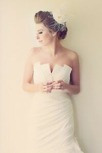 Jasmine Couture T440 Wedding Dress Stratford Kitchener Area image 4