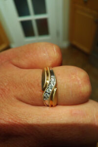 Men's wedding band for sale