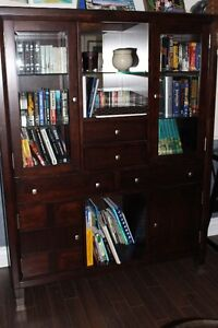 China Cabinet or bookshelf - MOVING - MUST SELL