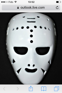 Masque de gardien de but deck hockey cosum sur glace