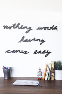 Mantra Easy Wall Decor By Umbra