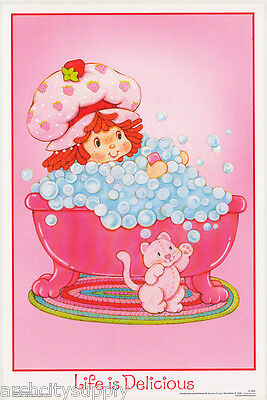Poster: Strawberry Shortcake - Smooth - Life Is ... - Free Ship Fl3321s Rw8 K