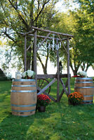 Wine Barrels available for RENT