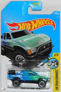Hot Wheels 1/64 Toyota Off-Road Truck Diecast Car