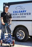Drain cleaning with camera inspection $125/Hour available now.