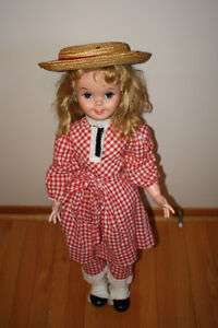 1960's Pollyanna Doll in Original Outfit