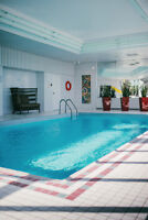 Central location! Security guard! Indoor Pool!
