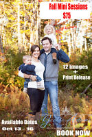 FALL MINI SESSIONS - Jackie Adams Photography