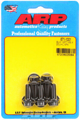 Arp for 671-1001 M8 x 1.25 x 20 12pt black oxide bolts