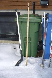 Bâton de hockey universel en alluminumProtège cou pour hockeyeur