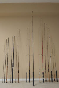 FISHING RODS & REELS.( NEW )