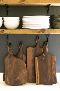 Sask Crafted rustic serving/cutting boards