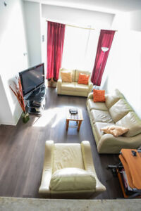 Condo for Rent 1 Bdr + Den, 2 Full Bathrooms, and Free parking