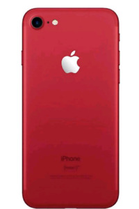 Red iphone 7 128g