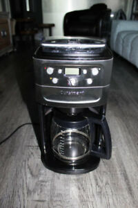 CUISINART Automatic Burr Grind and Brew 12 Cup Coffee Maker