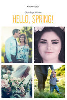 Goodbye Winter, Hello Spring - Photography Packages from $60