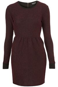 Topshop Boucle Sweater Dress sz 6