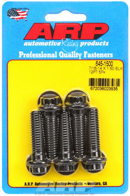 Arp for 645-1500 7/16-14 X 1.500 12pt 1/2 wrenching black oxide bolts