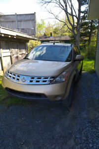 Nissan Murano AWD SL 2004 for sale/fix