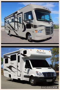 WANTED: Newer Class A or C Motorhome in Excellent condition!