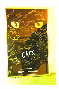 Cats Musical Signed Poster - 1981 Cast Signed CATS Poster