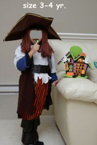 Pirate Costume for Halloween - 3/4 yrs - $10 (North PoCo)