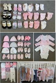 Newborn Baby Girl Bundle of Clothes