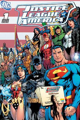 DC Comics - Justice League Cover Poster Print, 24x36