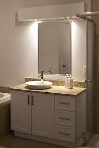 Miroir de salle de bain - comme neuf
