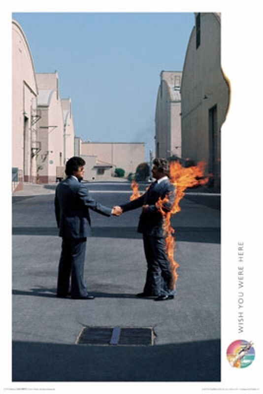 Official Pink Floyd Wish You Were Here Maxi Poster 91.5 x 61cm Mini Giant Band