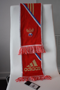 Adidas Russia Red Scarf