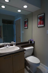 FURNISHED - 2 BED + DEN - 2 BATH - CONDO - 940 SQ FT IN YALETOWN