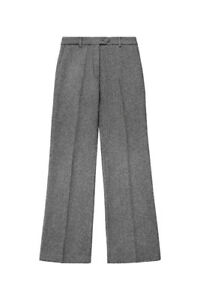 ERDEM x H&M Gray wool-blend suit pants