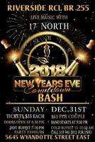 2018 New Years Eve Countdown Bash