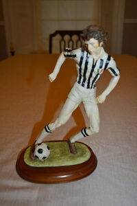 Collectible Soccer Figure by Lowery's of London