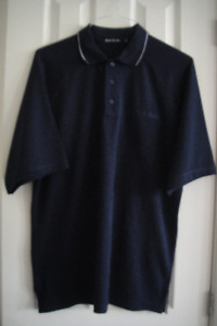 NEW Top Flite Polo Shirt Short Sleeve Men's 3-Button Medium