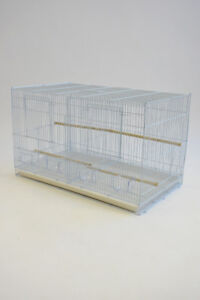 """38"""" Stackable Triple Bird Breeding Cage for Canary Finch Sisken"""