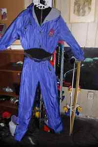 one piece ski/snow suit , lady and gent