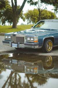 1985 Cadillac fleetwood coupe