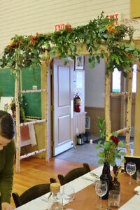 Rustic Wedding or Garden Arch - Vernon, BC