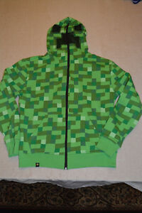 Minecraft Hoodie by Jinx Size: Adult S